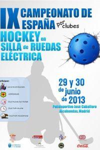 HOCKEY SILLA DE RUEDAS ELECTRICA
